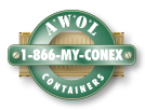 AWOL Containers | Shipping Containers, Modifications, Shelving & Special Equipment - AWOL Shipping Containers