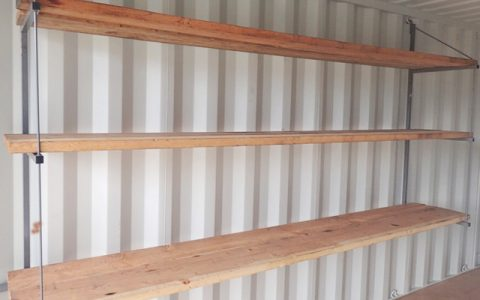 Shelf Brackets for Containers